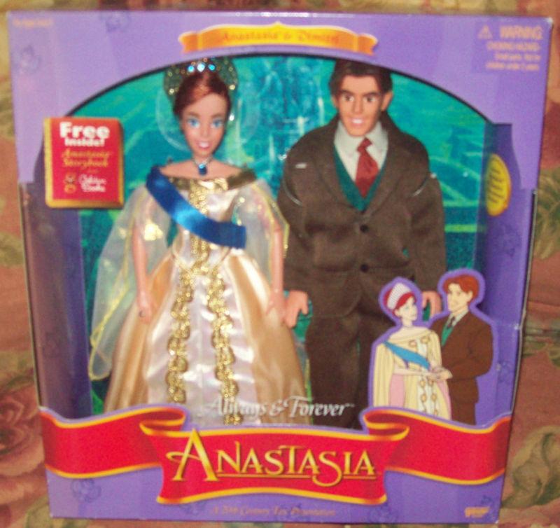 1997 Raro Anastasia Y Dimitri Always & Forever Giftset