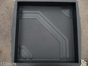 4-Stk-Kunststoff-Formen-72-6-Bodenplatten-Schalungen-Giessform-Form