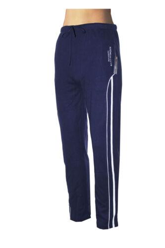 Sporthose  in Cobaltblau  Qbwmt2bl Angenehm warm Baumwollmischung Jogginghose