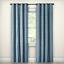 "Rowland Blackout Curtain Panel Eclipse Blue 84/"" x 52/"" 1 Grommet One Panel"