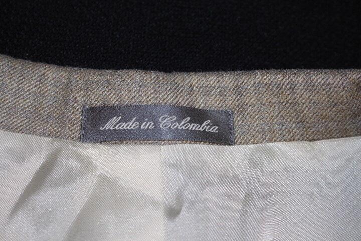 OSCAR DE DE DE LA RENTA Brown Silk Wool Blend Blazer Mens Size 42R Colombia  (148) 06d9c0