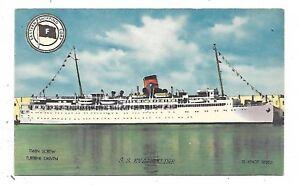 Eastern-Steamship-Lines-Passenger-Liner-S-S-EVANGELINE