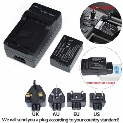 + Cargador De Batería Para Panasonic DMW-BMB9E DMW-BMB9 Lumix DMC-FZ150K DMC-FZ48