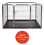 Heavy-Duty-4pc-Puppy-Play-Pen-Dog-Crate-Whelping-Box-Rabbit-Enclosure-Dog-Cage thumbnail 9
