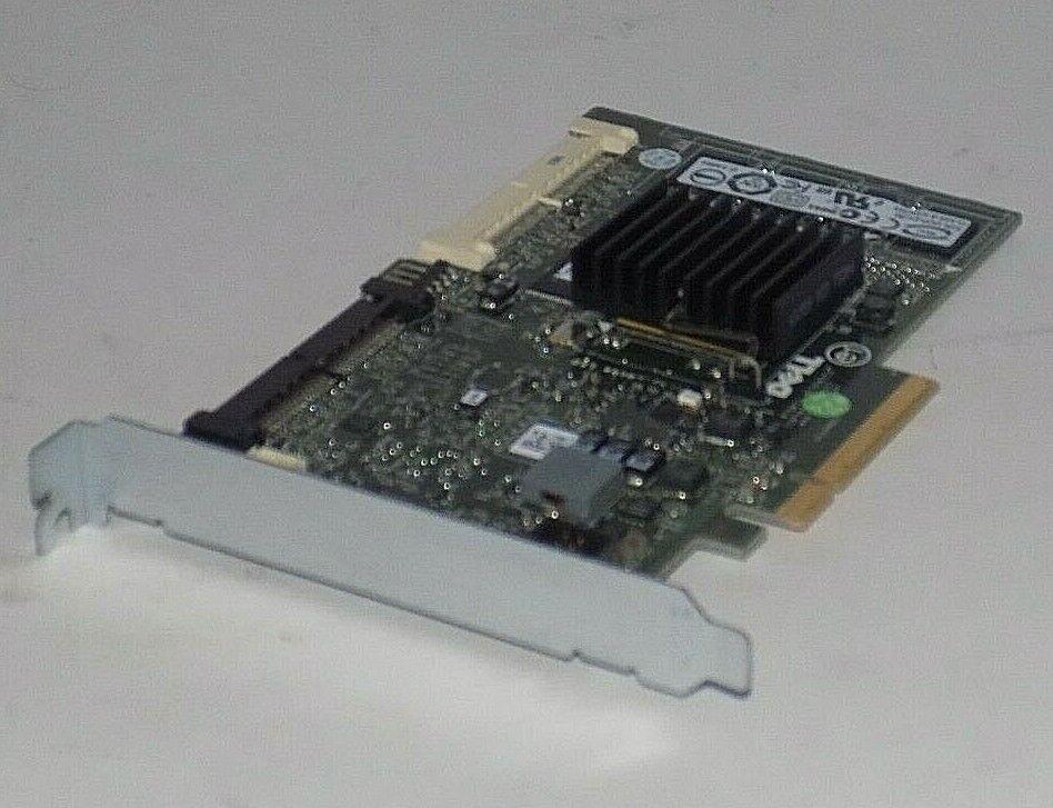 Dell PowerEdge PERC 6i PCI-e SAS Raid Controller Card DELL T774H 0T774H