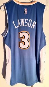 28e71afdc Adidas Swingman 2015-16 NBA Jersey Denver Nuggets Ty Lawson Light ...