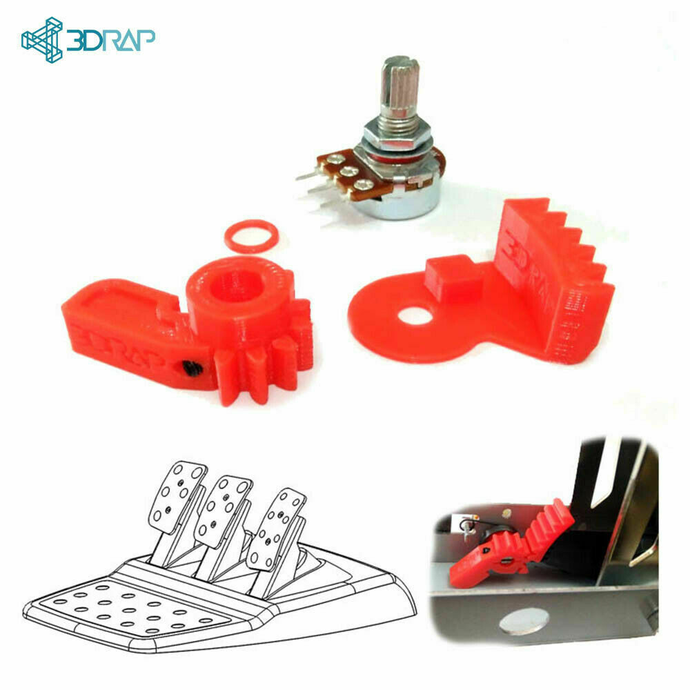 Potentiometer Replacement KIT – Logitech Pedals solution by 3DRap