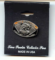 Harley Davidson Proud To Be An American Eagle Pin
