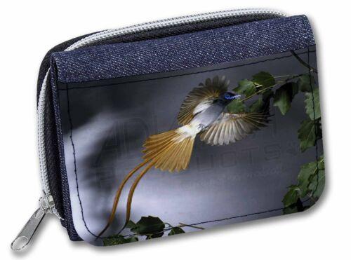 AB-91JW Humming Bird Girls//Ladies Denim Purse Wallet Christmas Gift Idea