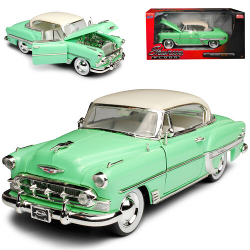 Chevrolet Chevy Bel Air Serie 2400C 1 Generation Coupe Grün mit Weiss Modell 19