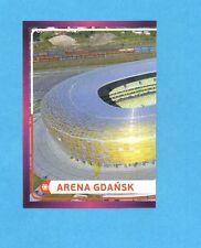 PANINI-EURO 2012-Figurina n.8- ARENA GDANSK -NEW-DARK BOARD