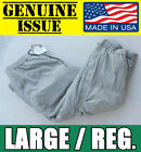 US MILITARY ECWCS GEN III Level 7 Primaloft Extreme Cold Weather Pants Large GI
