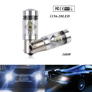 NEW-XBD-12V-24V-100W-1156-S25-P21W-BA15S-LED-Backup-Light-Car-Reverse-Bulb-Lamp