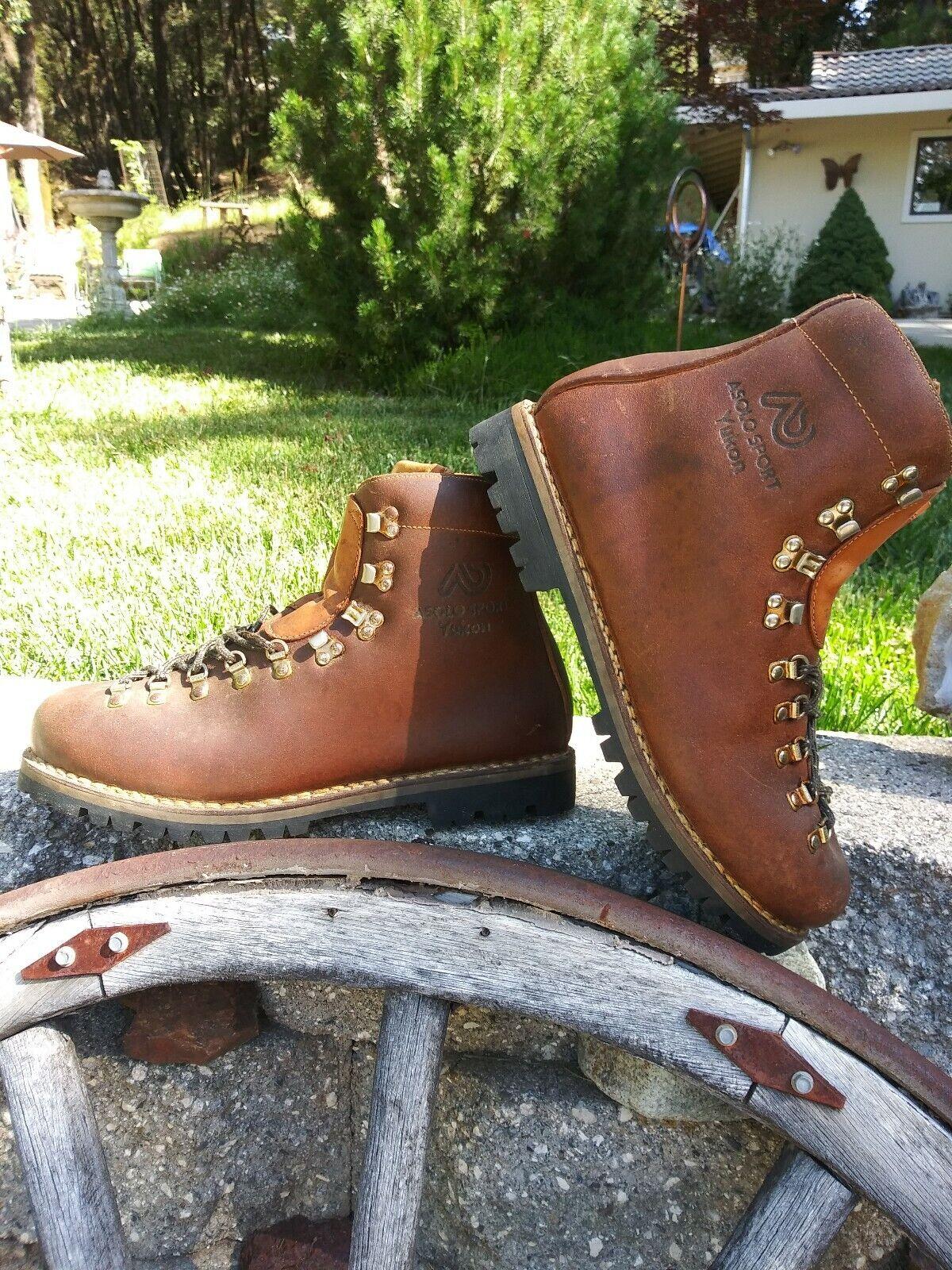 Vintage Asolo Vibram  solo hiking boots  brands online cheap sale