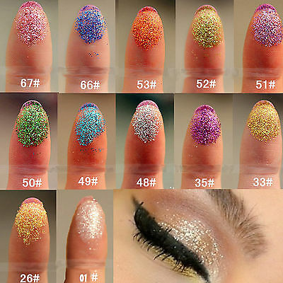 1X Eye Shadow Body Glitter Dust Powder Makeup Eyeshades Mineral Nail Art Party