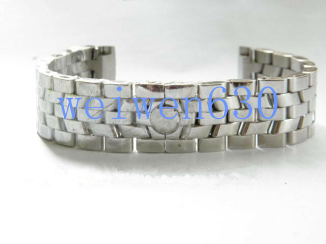 CLASP BUCKLE FIT For Franck Muller 19MM Stainless Steel STRAP BAND BELT