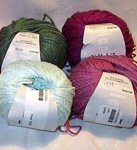 Lang-Lyra-Cotton-Silk-Blend-Italian-Yarn-Color-Choice-Loom-Knit-Crochet-FS