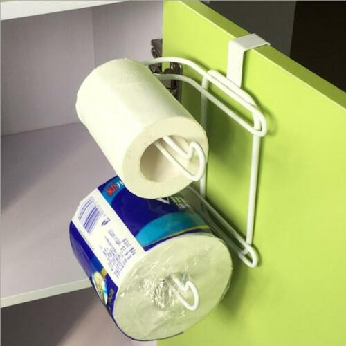 Toilet Paper Holder Tissue 2 Roll Storage Bathroom Over the Tank shan