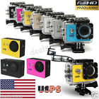 US Waterproof Sports DV Action Full HD 1080P Camera Pro Camcorder Recorder Cam