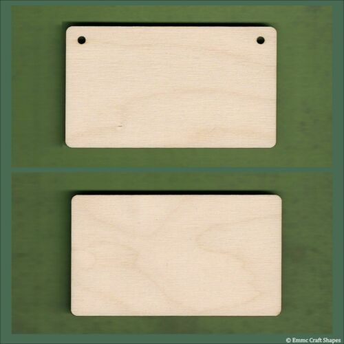 boards Wooden squares and rectangles rounded corner plaques 4mm Birch plywood