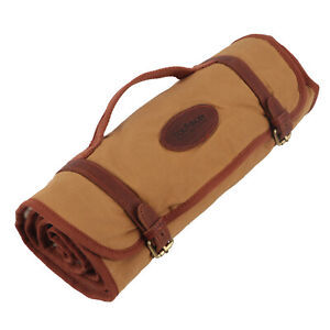 Tourbon-Long-Gun-Cleaning-Mat-Pad-Rifle-Shotgun-Clean-Kits-Pouch-Canvas-Leather