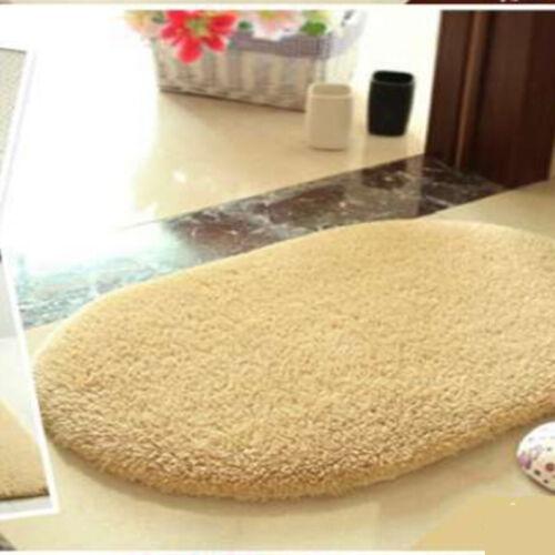 Soft Absorbent Memory Foam Bedroom Bath Bathroom Floor Shower Door Mat Rug GL