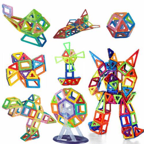 86pcs magnétique de construction de jouets créatifs éducatif puzzle bloc 3D