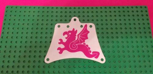Replacment sail Red Flying Dragon LEGO Ersatz Segel für Set 6057 Sea Serpent