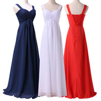 Maternity Long Bridesmaid Dress Evening Formal Party Prom Ball Gowns Dresses 20