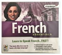 Learn To Speak French Essentials 9 (pc) Brand Sealed - Win10, 8, 7, Xp -nice
