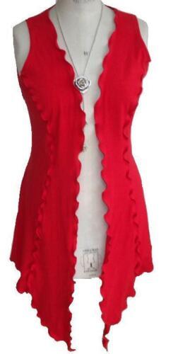 C101 Caroline Ann Ultimate Lagenlook//Layering piece long waistcoat Made to Order