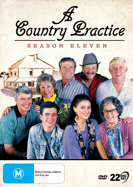 A COUNTRY PRACTICE Season 11 (Region 4) DVD The Complete Series Eleven