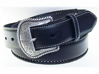 Nocona Top Hand Basic Leather Western Belt 1-1/2 Inch Size 45-46