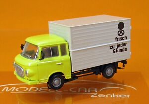 Brekina-MCZ-03-275-IFA-Barkas-B-1000-Koffer-Konsum-Backwaren-SM-1-87