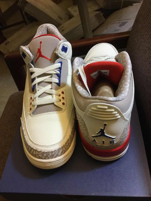 Nike Air Jordan Retro 3 International Flight Charity Game 136064-140 SIZE 12