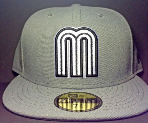 Mexico World Baseball Classic logo New Era 59FIFTY fitted//cap//hat
