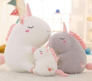 Plush-Toy-Fat-Cute-Unicorn-Doll-Soft-Stuffed-Animal-Pillow-Baby-Kids-Girls-Gift