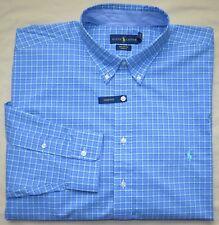 d96068b5a item 1 New 4XB 4XL BIG 4X POLO RALPH LAUREN Mens button down dress shirt  blue green 18 -New 4XB 4XL BIG 4X POLO RALPH LAUREN Mens button down dress  shirt ...