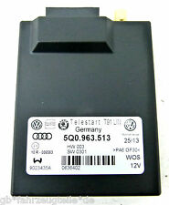 VW Audi Seat Telestart T91 Steuergerät Standheizung 5Q0963513 Webasto HW003 SW03