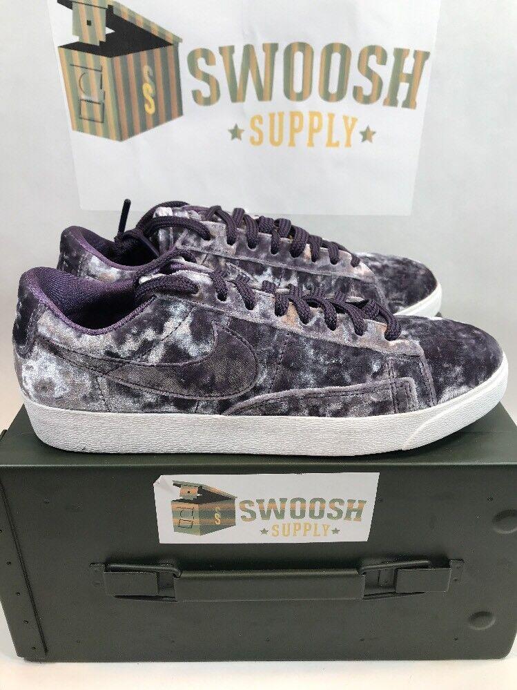 Nike donne blazer basso lx nuove dimensioni scarpa da ginnastica buio uvetta aa2017 500