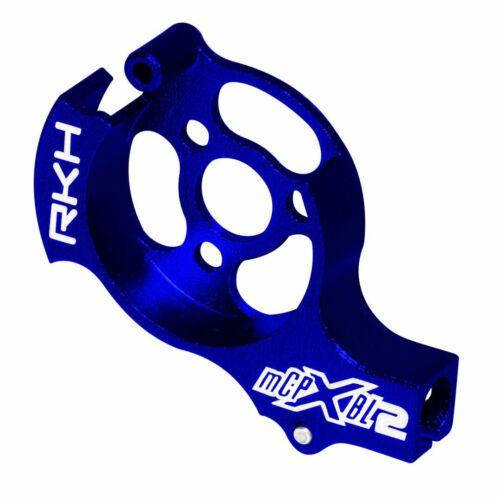 Blade mCPX BL2 Blue Rakonheli CNC Aluminum Tail Motor Mount Set