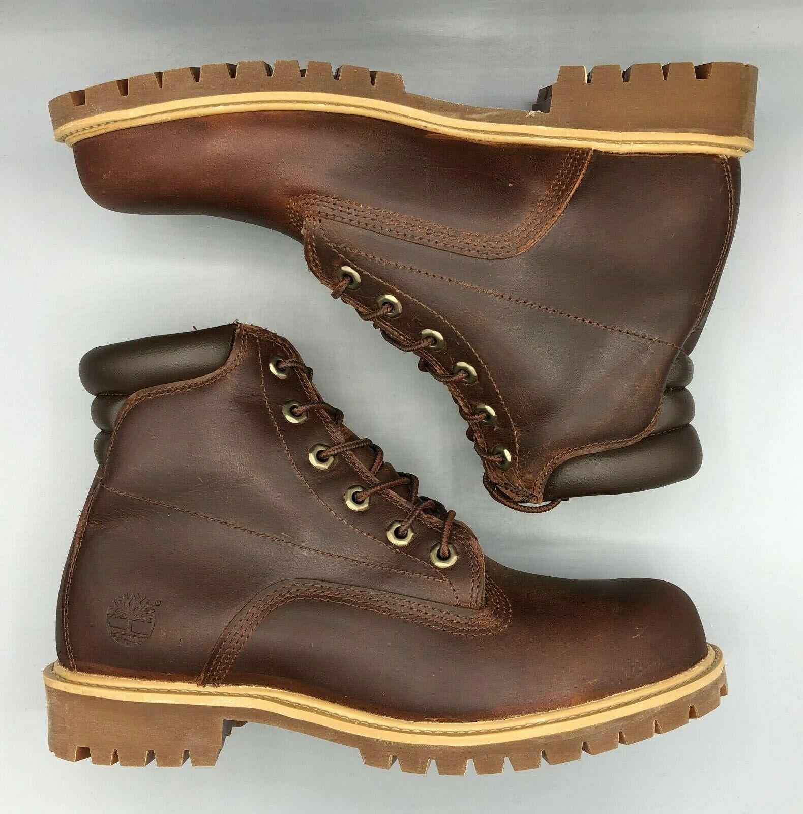 "Timberland Alburn 6"" Waterproof Mens Brown Boots, UK:8, RRP:! BNWB"