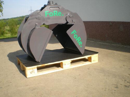 Einlegeschale Verladezange RHGS 019 Holzgreifer    Rotator .Rückewagen Forstkran