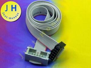 x IDC Verlängerungskabel 10 polig 10cm 2.54mm Verbinder #A2055 1 Stk