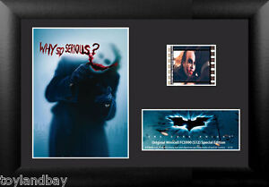 Film Cell Genuine 35mm Framed & Matted Batman Dark Knight Heath Ledger USFC5990