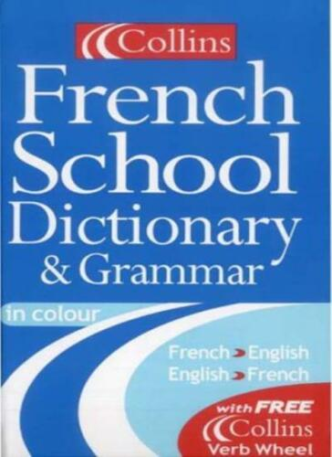 1 of 1 - Collins Dictionary and Grammar - Collins French School Dictionary and Grammar,