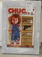 Chucky: The Killer DVD Collection (DVD, 2009, 2-Disc Set) RARE HORROR SET BRAND