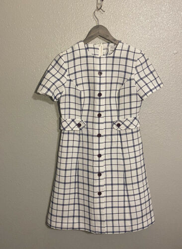Ruth Norman Gay Gibson Vintage 1960's Mod Dress