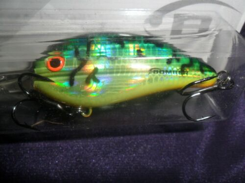 Bomber Fat Free Shad Jr Crank Bait Fire Tiger New In The Package  JR4