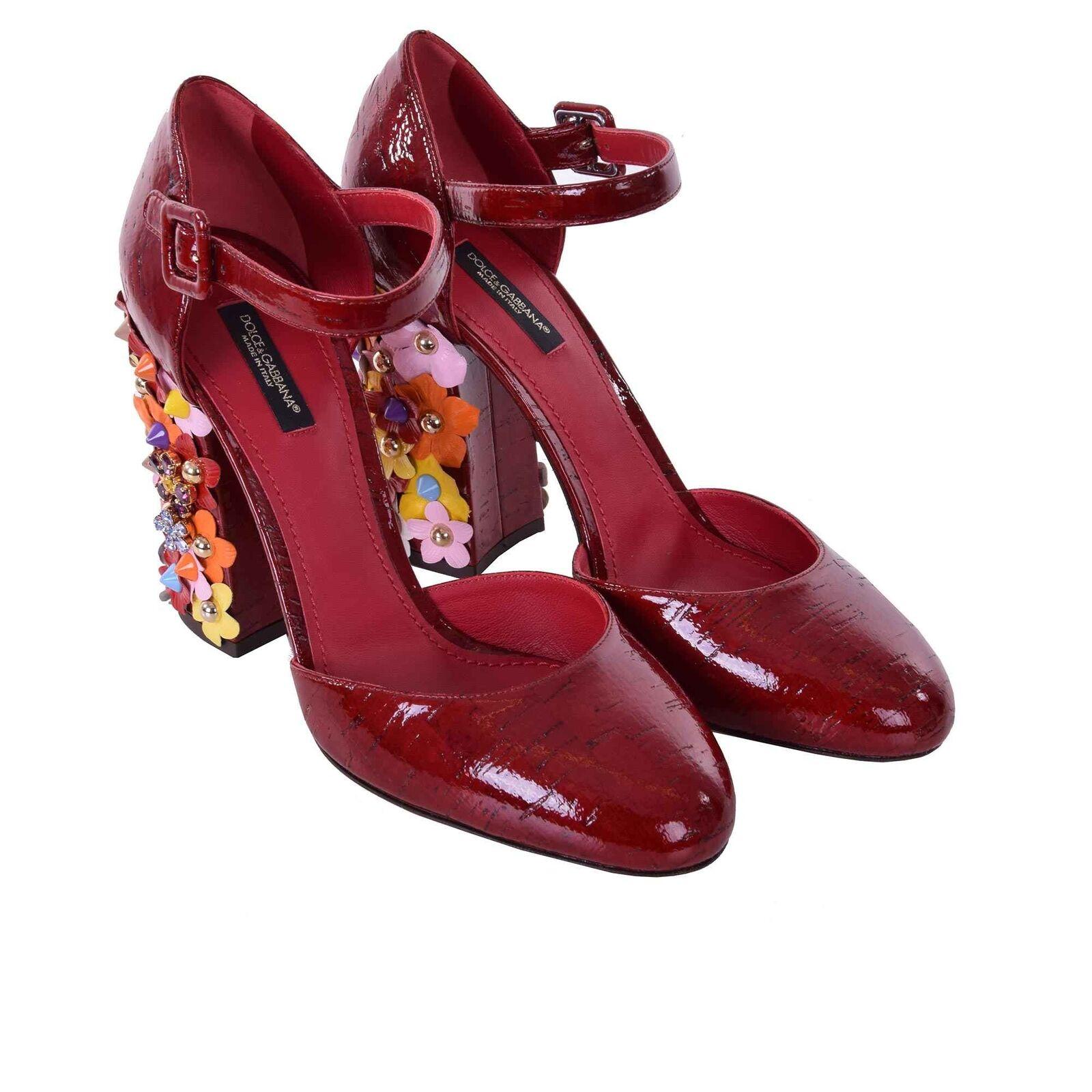 ddd34c08c5c694 Dolce Sughero Pumps amp  Gabbana Vally Scarpe Cristalli Con rwBrqdx